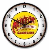 LED Lighted Meteeor Gasoline Clock
