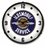 LED Lighted Oldsmobile Service Clock