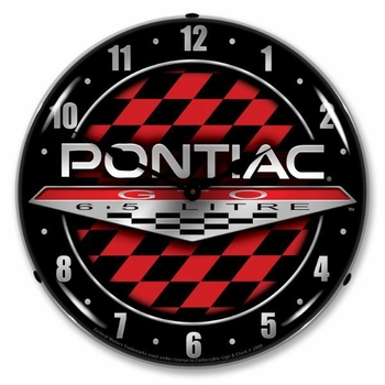 LED Lighted Pontiac GTO Clock