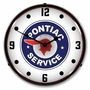 LED Lighted Pontiac Service Clock