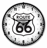 LED Lighted Route 66 Clock