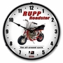LED Lighted Rupp Minibike Clock