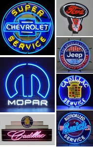 Items in Lighted Signs