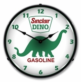 LED Lighted Sinclair Dino Clock
