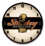 LED Lighted Stromberg  Equipped Clock