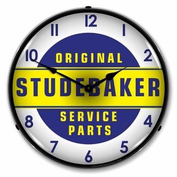 Lighted Studebaker Parts Clock