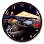 LED Lighted Teds Drive In Clock