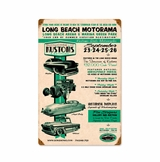Long Beach Motorama Metal Sign