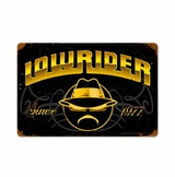 Lowrider Since 1977 Metal Sign