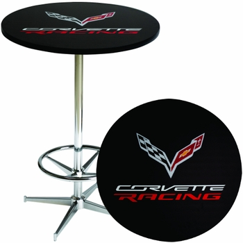 Made in the USA Corvette Racing Pub Table