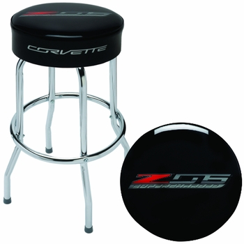 Made in the USA Z06 Corvette Shop Stool