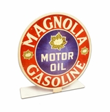 Magnolia Gas Topper Metal Sign