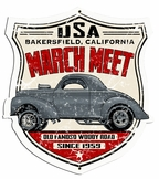 MARCH MEET WILLY'S Metal Sign