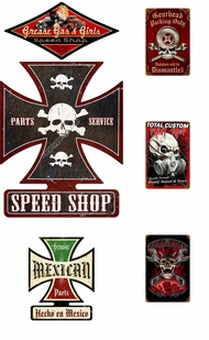 Items in Mechanic and Shop Signs