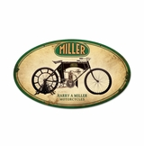 Miller Motorcycles Sign
