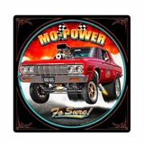 Mo Power Metal Sign