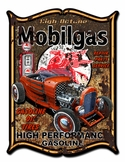 Mobilegas Metal Sign