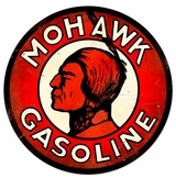 Mohawk Gasoline XL Metal Sign