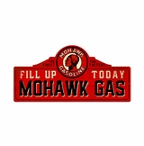 Mohawk Station Metal Sign