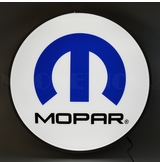 Mopar Omega M 15 Inch Backlit Led Lighted Sign