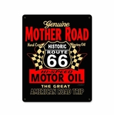 Mother Road Motor Oil Metal Sign