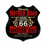 Mother Road Oil Metal Sign