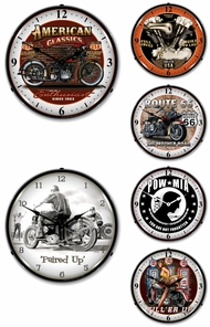 Items in Motorcycle Clocks