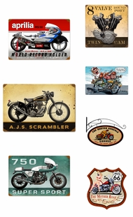 Items in Motorcycle Signs