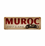 Muroc Metal Sign