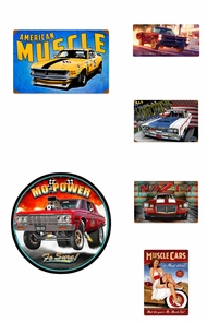 Items in Muscle Car Signs