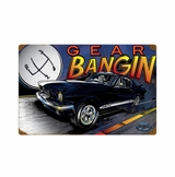 Mustang Gear Metal Sign