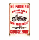 No Parking Cruise Zone Metal Sign
