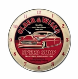 Older And Wiser Speed Shop Metal Sign