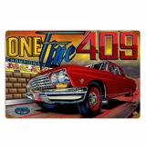 One Fine 40 Metal Sign