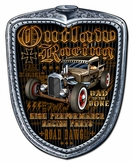 Outlaw Racing Grill Metal Sign