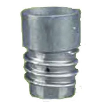 "Overhead Duct Connector for Exhaust Hose Aluminum 5"" Diameter"