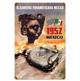 Panamericana Mexico Metal Sign
