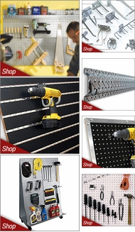 Items in Pegboard, Slatwall, and Accessories