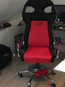 Personalised Embroidered Office chair