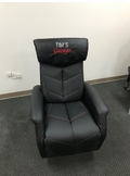 Personalised Embroidered Race Car Reclining Office Chair