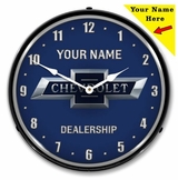Personalized LED Lighted Bowtie 100th Anniversary Clock