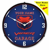 Personalized LED Lighted Gen 2 Viper Clock