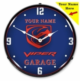 Personalized LED Lighted Gen 3 Viper Clock