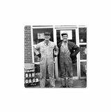Photo Coveralls Metal Sign