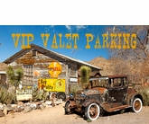 Photo Valet Parking Metal Sign