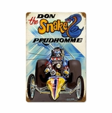 Prudhomme The Snake Metal Sign