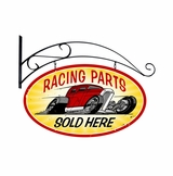 Racing Parts Metal Sign