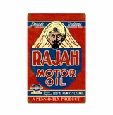 Rajah Motor Oil Metal Sign