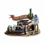 Rat Rod Metal Sign