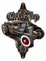 Rat Rod Chop Shop Metal Sign